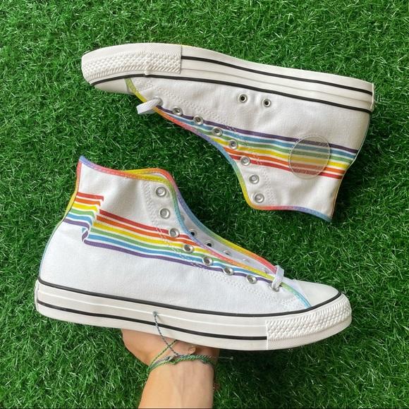 Converse All Star Chuck Taylor Hi Pride Rainbow